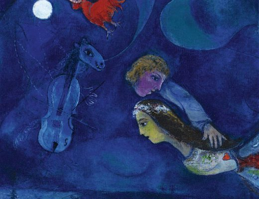 Chagall - Le coq rouge